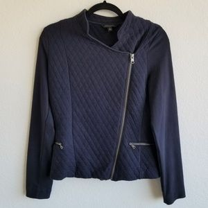 Banana Republic Asymmetrical Zip Up Jacket 205C